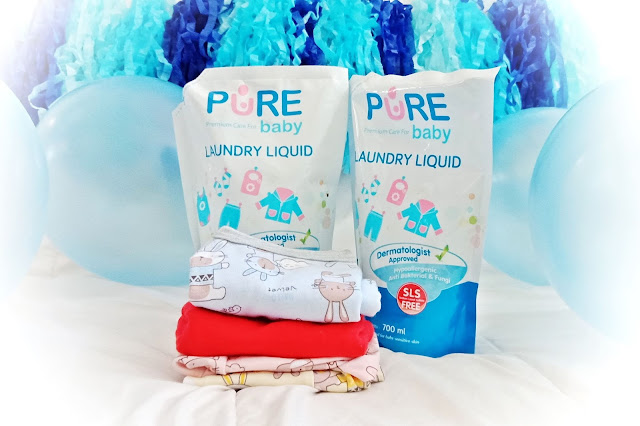 Pure Baby perawatan bayi premium