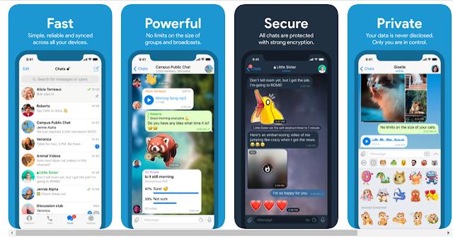 Download Telegram 6.0.1 IPA free