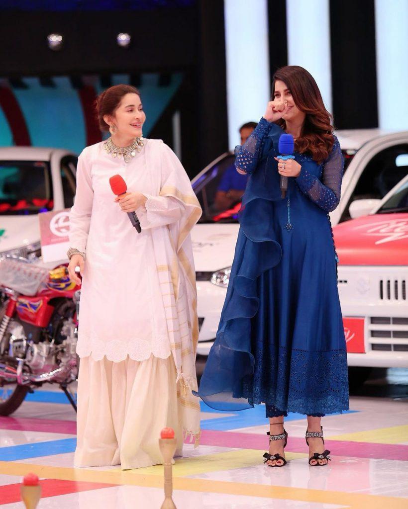 Actress Areeba Habib Charming Pictures from Jeeto Pakistan