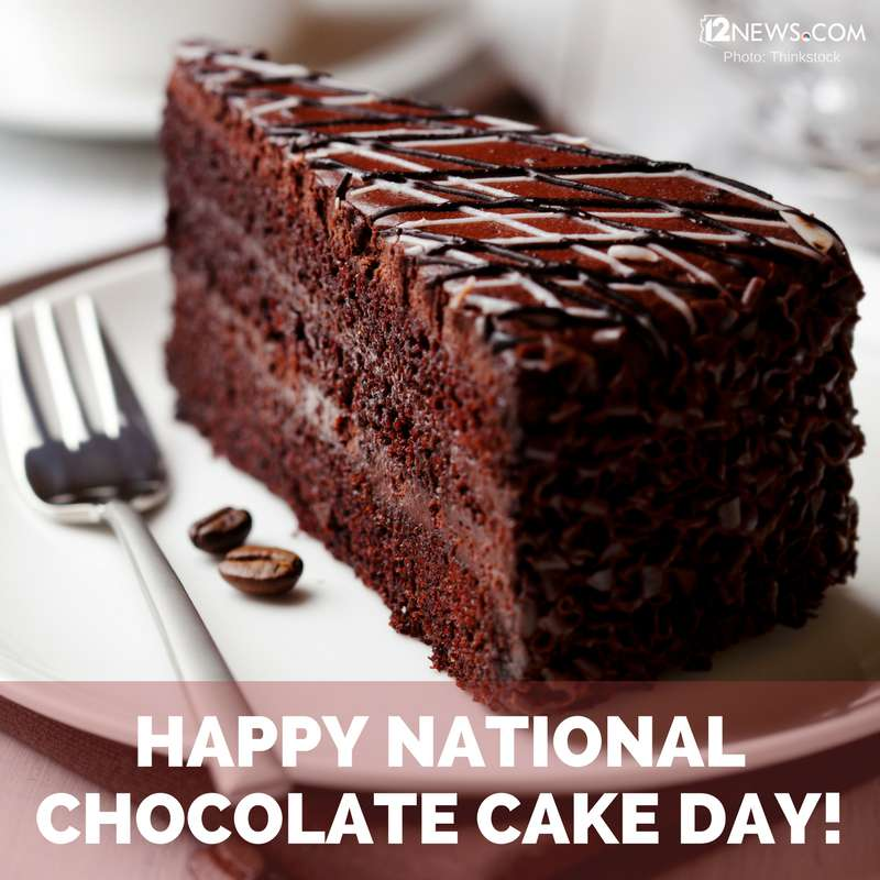 National Chocolate Cake Day Wishes for Whatsapp