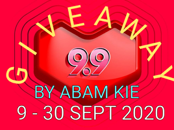 Mrs. A join 9.9 Giveaway by Abam Kie