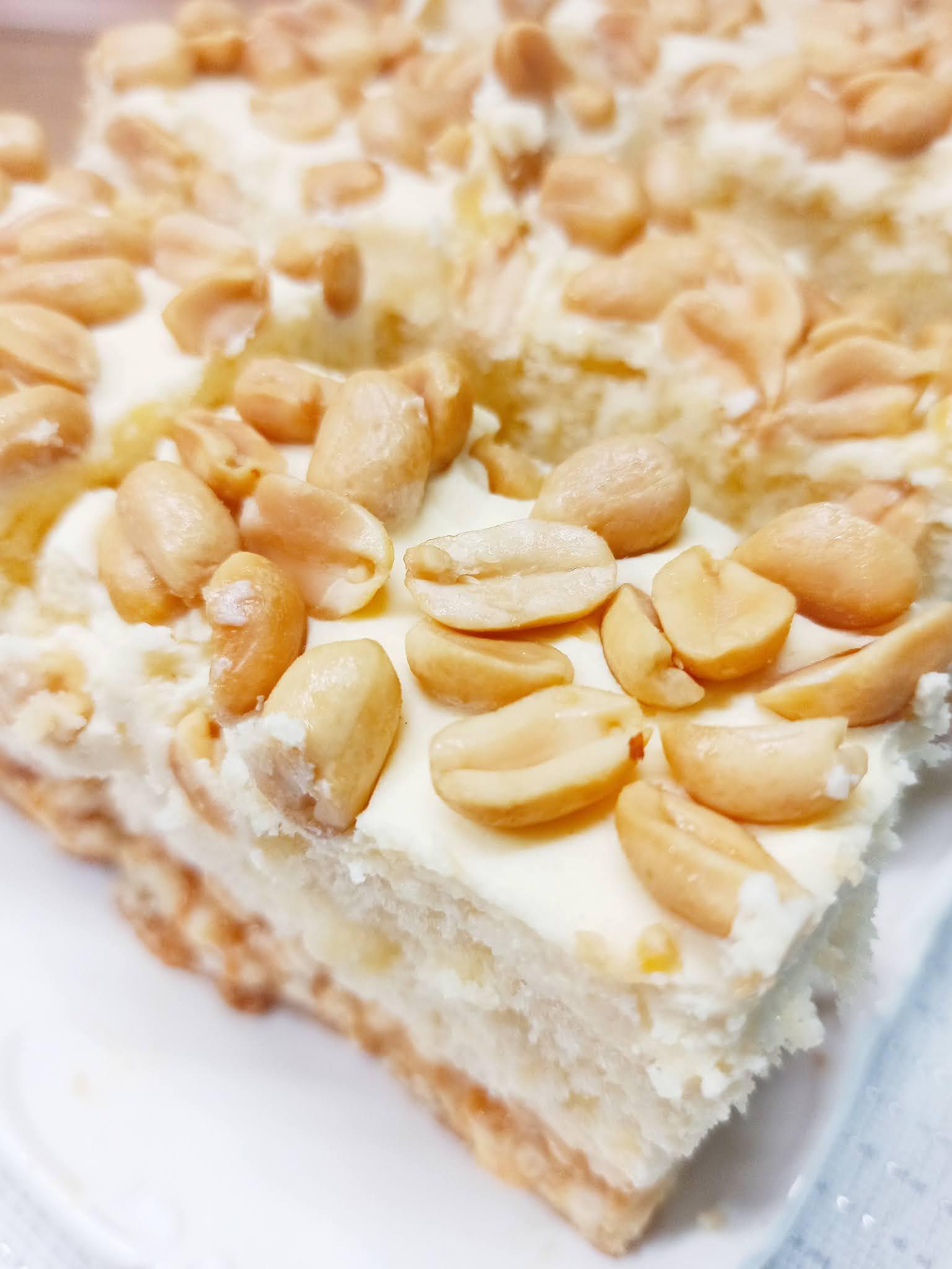 Ciasto biały lion