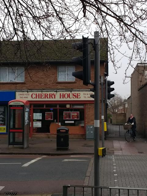 Cambridge, Cherry Hinton, Chinese Takaway, Shops, Psychogeography