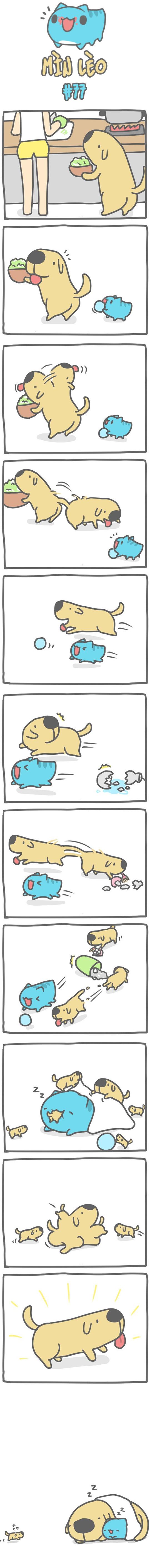 Truyện Mìn Lèo #77: Chái Dò phân thân