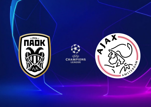 PAOK vs Ajax Full Match & Highlights 6 August 2019