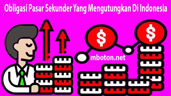 Pasar Sekunder Yang Mengutungkan Di Indonesia