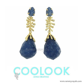 Queen Letizia Jewels COOLOOK Big Ameba Earrings