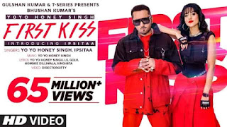 फर्स्ट किस First Kiss Lyrics In Hindi - Honey Singh