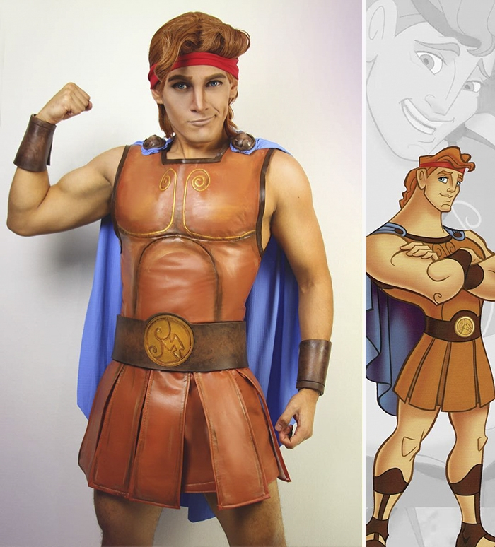 02-Hercules-Jonathan-Stryker-Body-Paint-Cosplay-Transforms-into-Animations-and-Cartoons-www-designstack-co