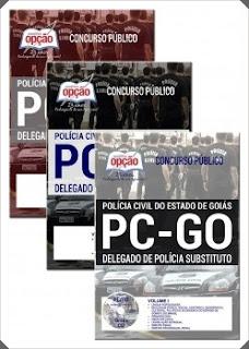 apostila Delegado de Polícia PCGO