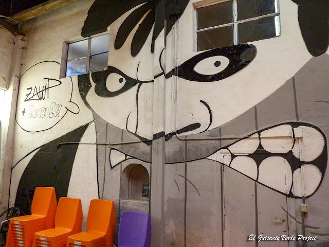 Mural en ZWAP Zorrozaurre - Bilbao, por El Guisante Verde Project