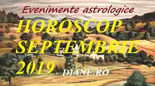 Evenimente astrologie în horoscopul septembrie 2019