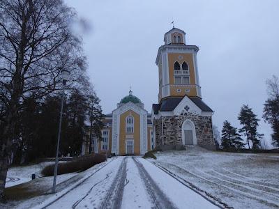 Finlande L'église de Kerimäki près de Savonlinna