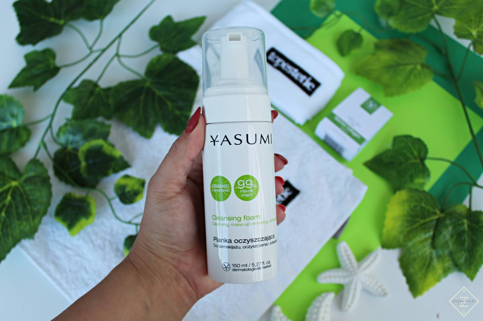 Yasumi Cleansing Foam Pianka do demakijażu