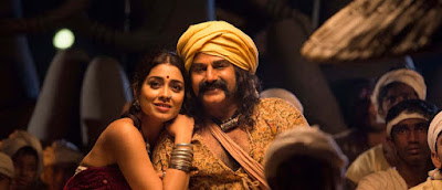 Balakrishna and Sriya New Still from Gautamiputra Satakarni Movie