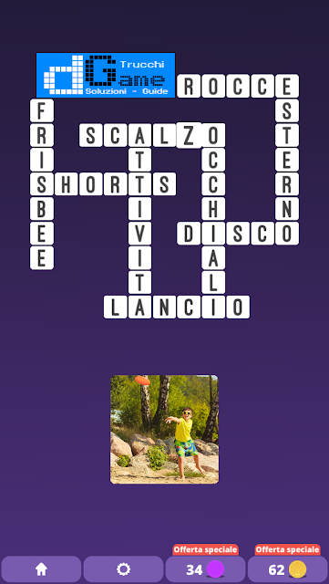 Soluzioni One Clue Crossword livello 26 schemi 3 (Cruciverba illustrato)  | Parole e foto