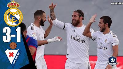 Pepet Barcelona, Real Madrid Taklukkan Eibar 3:0