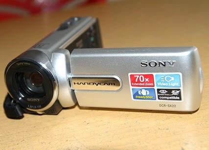 jual handycam bekas Sony DCR-SX22