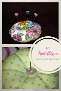 Nadelkissen DIY mit kostenloser Anleitung