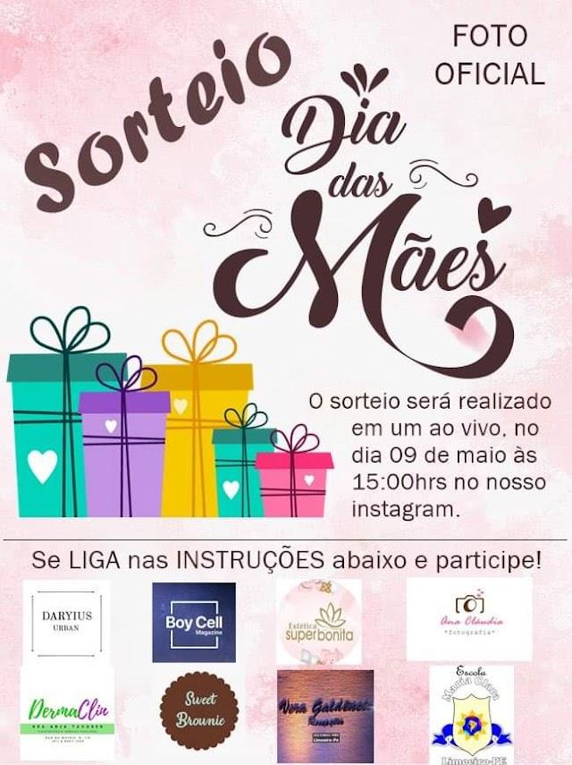 Escola Maria Clara realiza sorteio do Dia das mães em live no Instagram