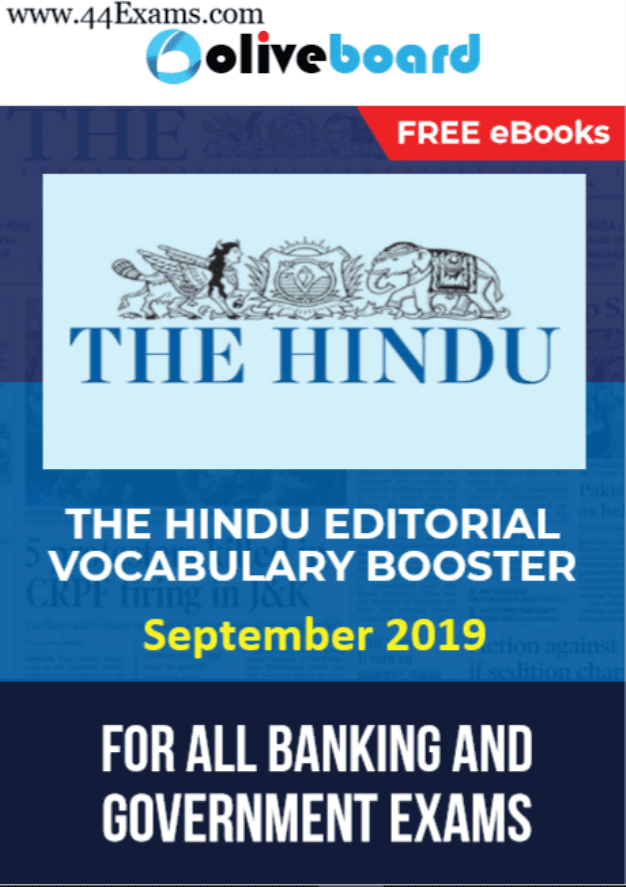 The-Hindu-Editorial-Vocabulary-Booster-September-2019-For-All-Competitive-Exam-PDF-Book