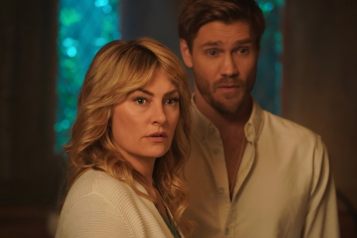 Mädchen Amick and Chad Michael Murray in Riverdale