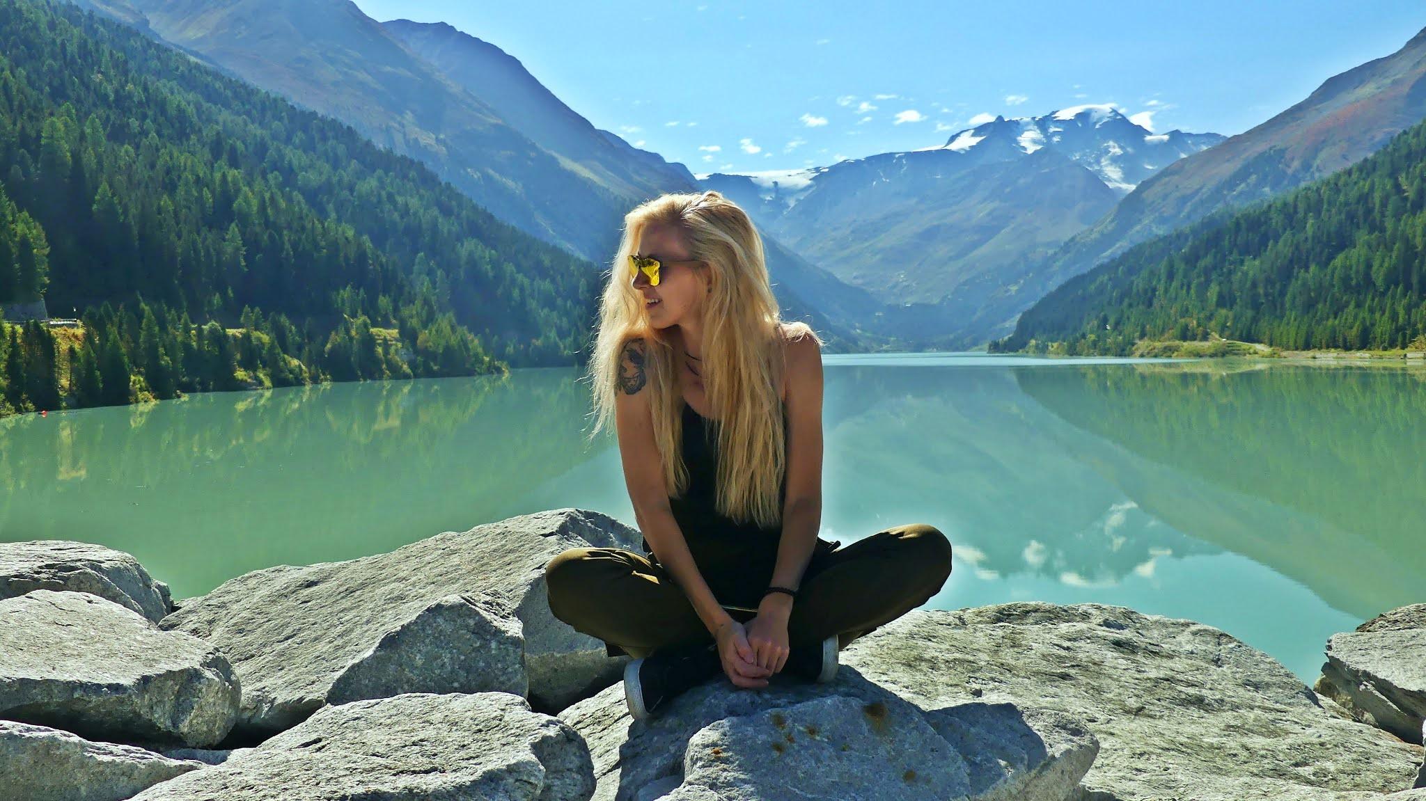 Jezioro Gepatsch-Stausee najpiękniejsze drogi w Austrii