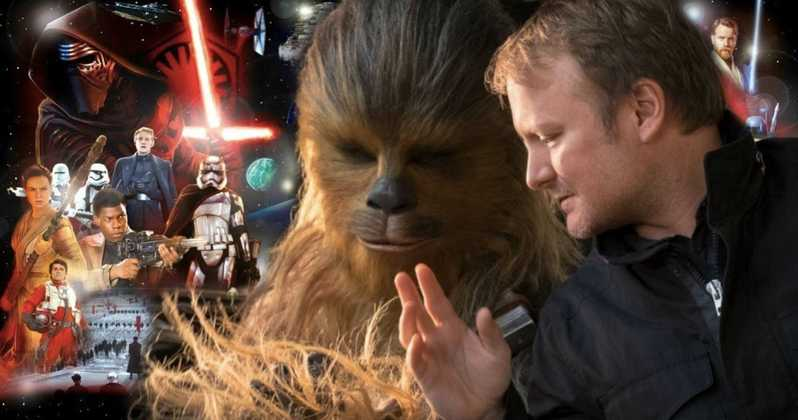 Rian Johnson gives a little clue about his new Star Wars trilogy