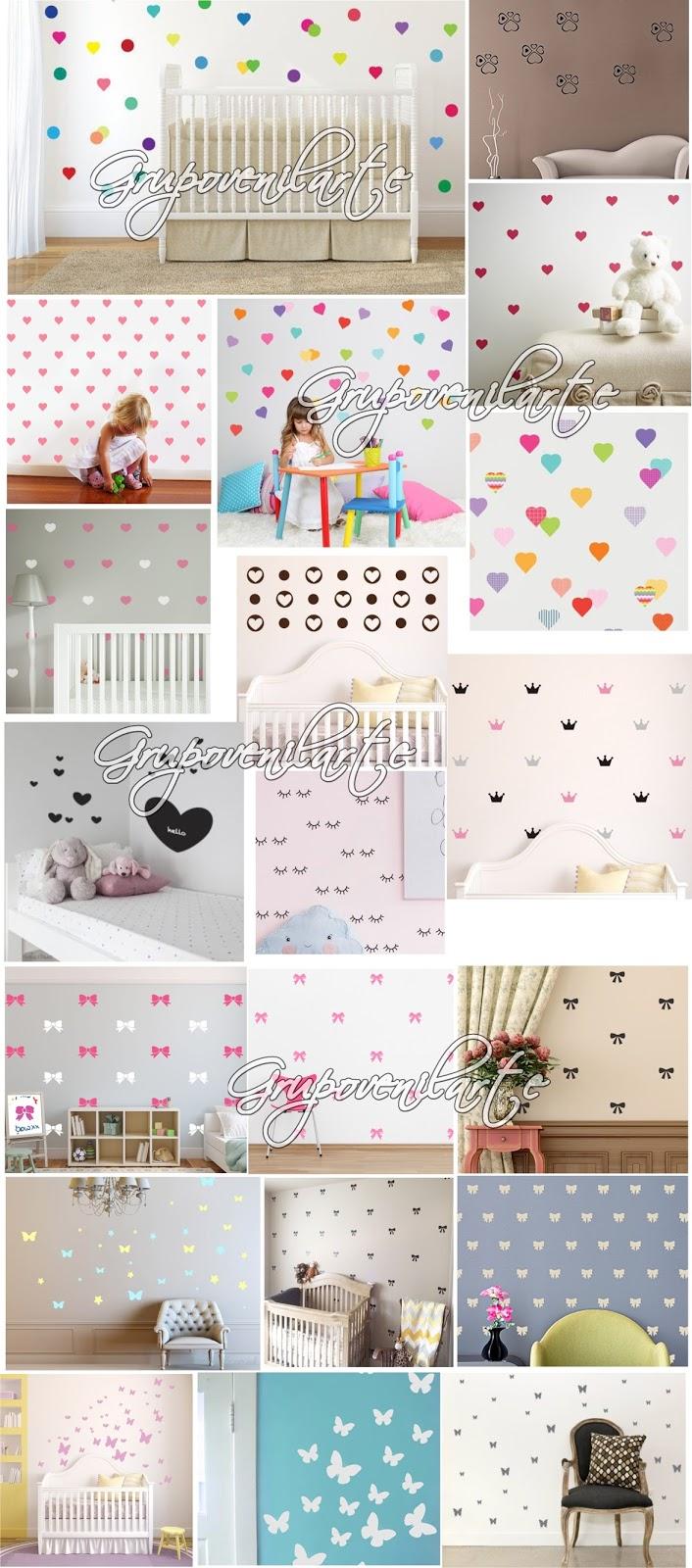 Vinilos decorativos para paredes hogar decoraci n beb s for Vinilos para pared precios