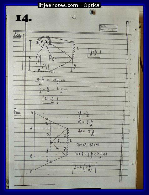 Optics Notes 4