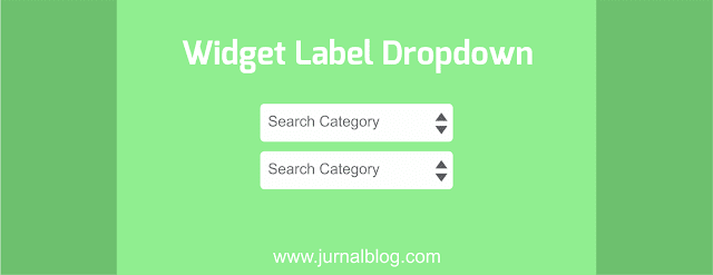 Widget Label Dropdown