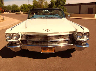 1963 Cadillac DeVille Convertible Front