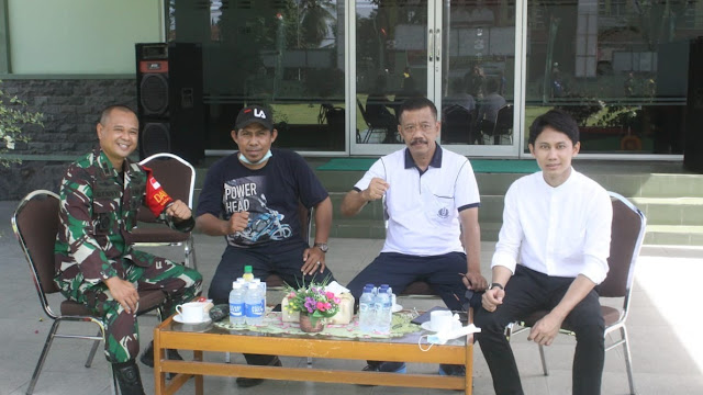 Kegiatan Kodim 1310/ Kota Bitung Jelang Hari ABRI/ TNI