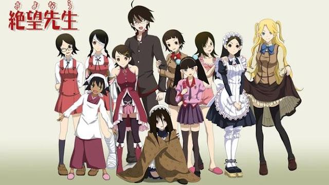 Sayonara Zetsubou Sensei - Best Anime Like Assasination Classroom (Ansatsu Kyouhitsu)