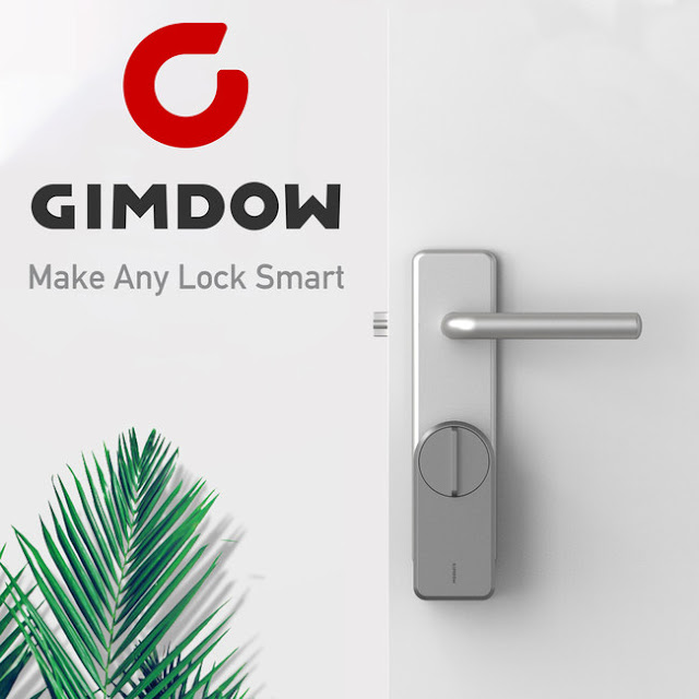Gimdow to Release the World's Best No-Install Smart Lock