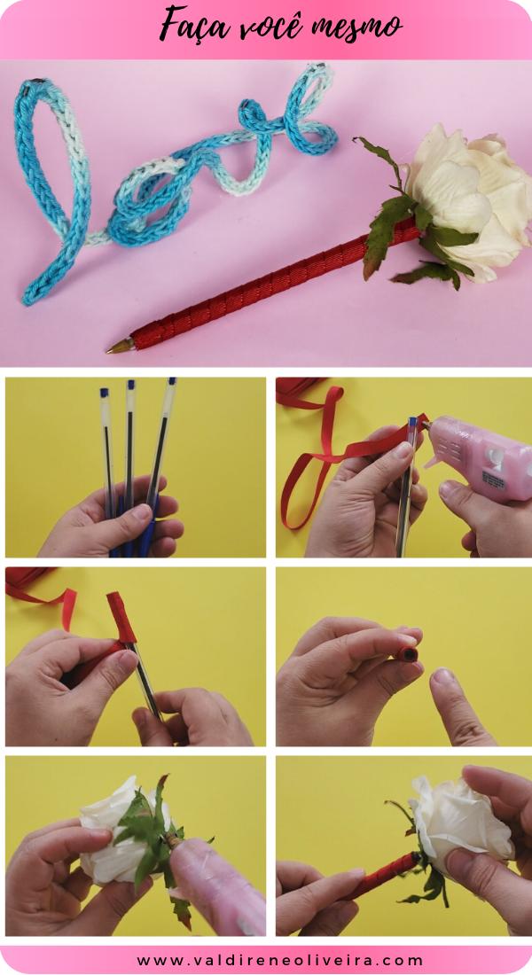 como fazer caneta personalizada