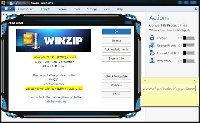 winzip 21.5 serial