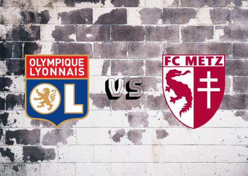 Olympique Lyonnais vs Metz  Resumen