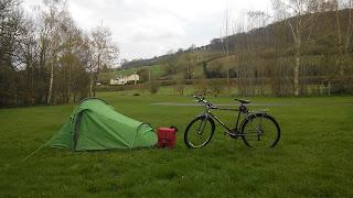 Pencelli Castle campsite