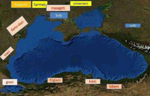 Popoarele din jurul Marii Negre