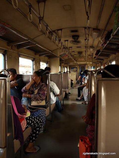 Pociąg Bangkok - Ayutthaya