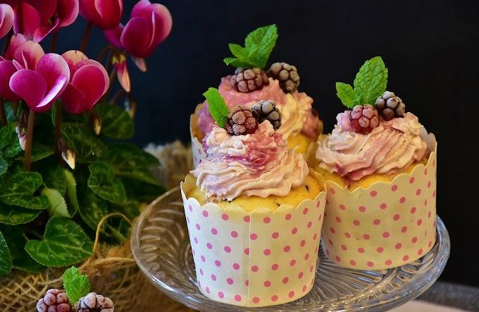 Buttercream para cupcakes de fresa