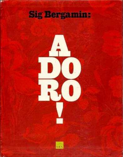Capa do livro Adoro, de Sig Bergamin