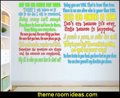 Dr Seuss wall Quotes Dr Seuss Quotes wall decals
