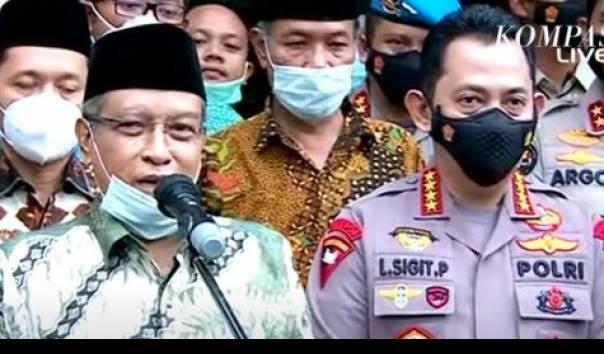 Said Aqil ke Listyo Sigit: Yang Khotbah Jumat Katai Jokowi Kenapa Dibiarkan