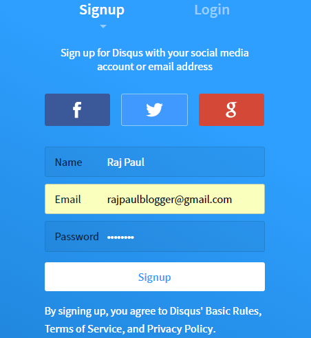 Adding Disqus to Blogspot