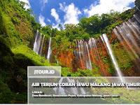Air Terjun Coban Sewu Pujon Malang Jawa Timur Lokasi dan Tiket Masuk Wisata