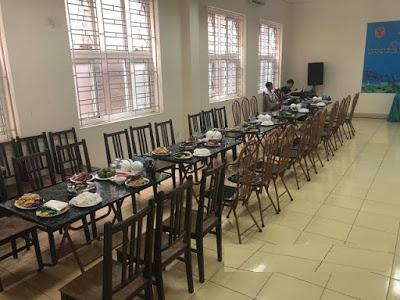 Đặt tiệc liên hoan tại công ty - Phục vụ tiệc 10 mâm tại Ban Cơ Yếu Chính Phủ