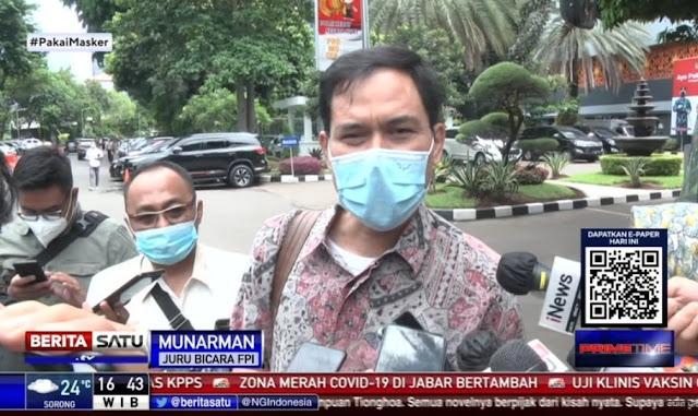 Tolak Reka Ulang Versi Polisi, Munarman: Seperti Drama Komedi yang Garing