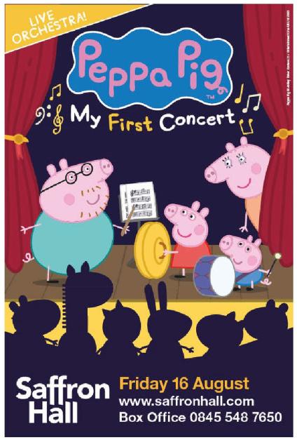 Wimbish Hive Saffron Hall Presents Peppa Pig My First Concert